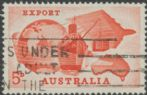 SG 353 ACSC 397ea. 5d Red Export Campaign variety single (AE1/390)